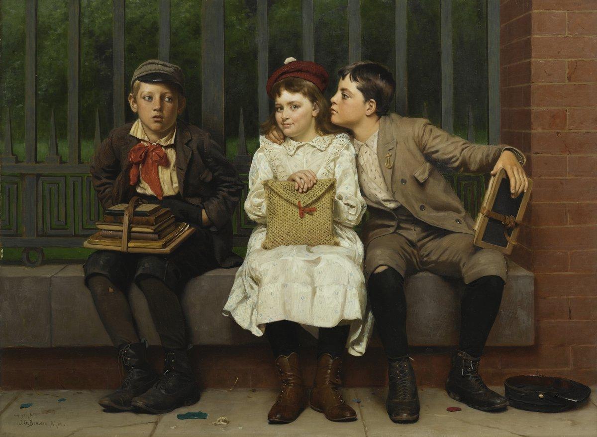 Браун Джон «Не в этом», 27x20 см, на бумагеРазные американские художники 19-20 веков<br>Постер на холсте или бумаге. Любого нужного вам размера. В раме или без. Подвес в комплекте. Трехслойная надежная упаковка. Доставим в любую точку России. Вам осталось только повесить картину на стену!<br>