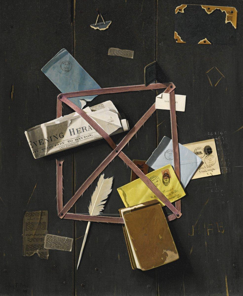 Художники, картина Пето Джон «Стена с письмами», 20x24 см, на бумагеРазные американские художники 19-20 веков<br>Постер на холсте или бумаге. Любого нужного вам размера. В раме или без. Подвес в комплекте. Трехслойная надежная упаковка. Доставим в любую точку России. Вам осталось только повесить картину на стену!<br>