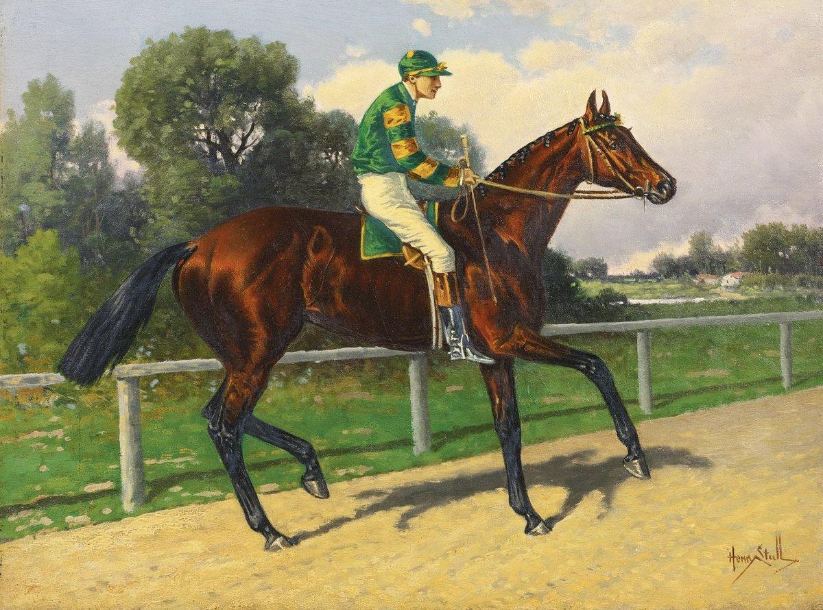 Сталл Генри «Жокей на лошади», 27x20 см, на бумагеРазные американские художники 19-20 веков<br>Постер на холсте или бумаге. Любого нужного вам размера. В раме или без. Подвес в комплекте. Трехслойная надежная упаковка. Доставим в любую точку России. Вам осталось только повесить картину на стену!<br>