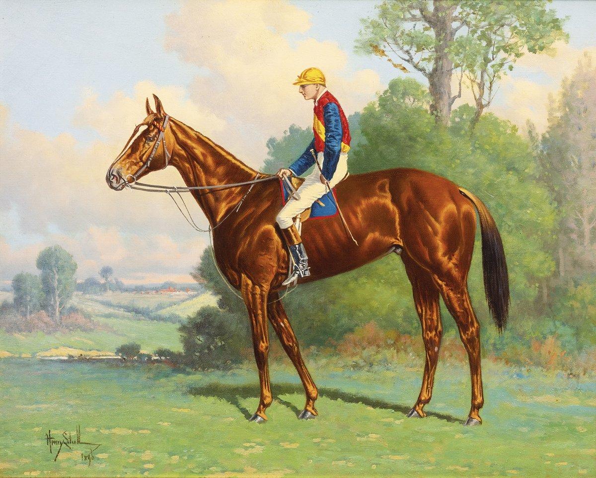 Художники, картина Сталл Генри «Жокей на лошади», 25x20 см, на бумагеРазные американские художники 19-20 веков<br>Постер на холсте или бумаге. Любого нужного вам размера. В раме или без. Подвес в комплекте. Трехслойная надежная упаковка. Доставим в любую точку России. Вам осталось только повесить картину на стену!<br>