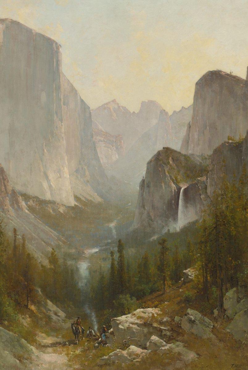 Хилл Томас «Долина Йосемит», 20x30 см, на бумагеРазные американские художники 19-20 веков<br>Постер на холсте или бумаге. Любого нужного вам размера. В раме или без. Подвес в комплекте. Трехслойная надежная упаковка. Доставим в любую точку России. Вам осталось только повесить картину на стену!<br>