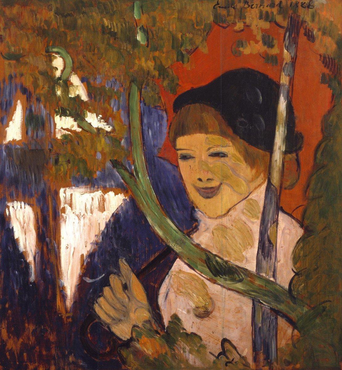 Бернар Эмиль, картина Бретонская девушка в красной шляпе, 20x22 см, на бумагеБернар Эмиль<br>Постер на холсте или бумаге. Любого нужного вам размера. В раме или без. Подвес в комплекте. Трехслойная надежная упаковка. Доставим в любую точку России. Вам осталось только повесить картину на стену!<br>