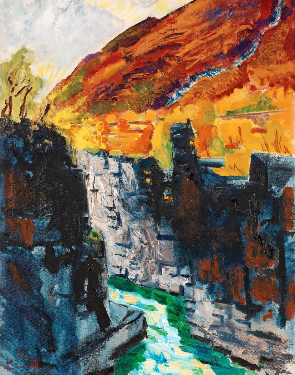 Художники, картина Осенний пейзаж с каньоном, Абиско, 20x25 см, на бумагеГрюневальд Исаак<br>Постер на холсте или бумаге. Любого нужного вам размера. В раме или без. Подвес в комплекте. Трехслойная надежная упаковка. Доставим в любую точку России. Вам осталось только повесить картину на стену!<br>