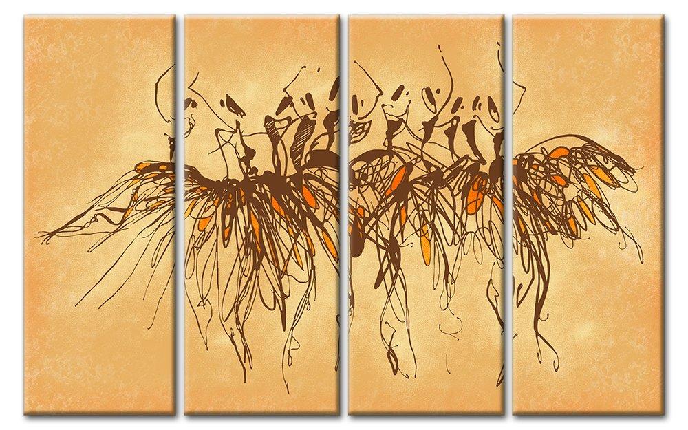 Модульная картина «Балет»Люди<br>Модульная картина на натуральном холсте и деревянном подрамнике. Подвес в комплекте. Трехслойная надежная упаковка. Доставим в любую точку России. Вам осталось только повесить картину на стену!<br>
