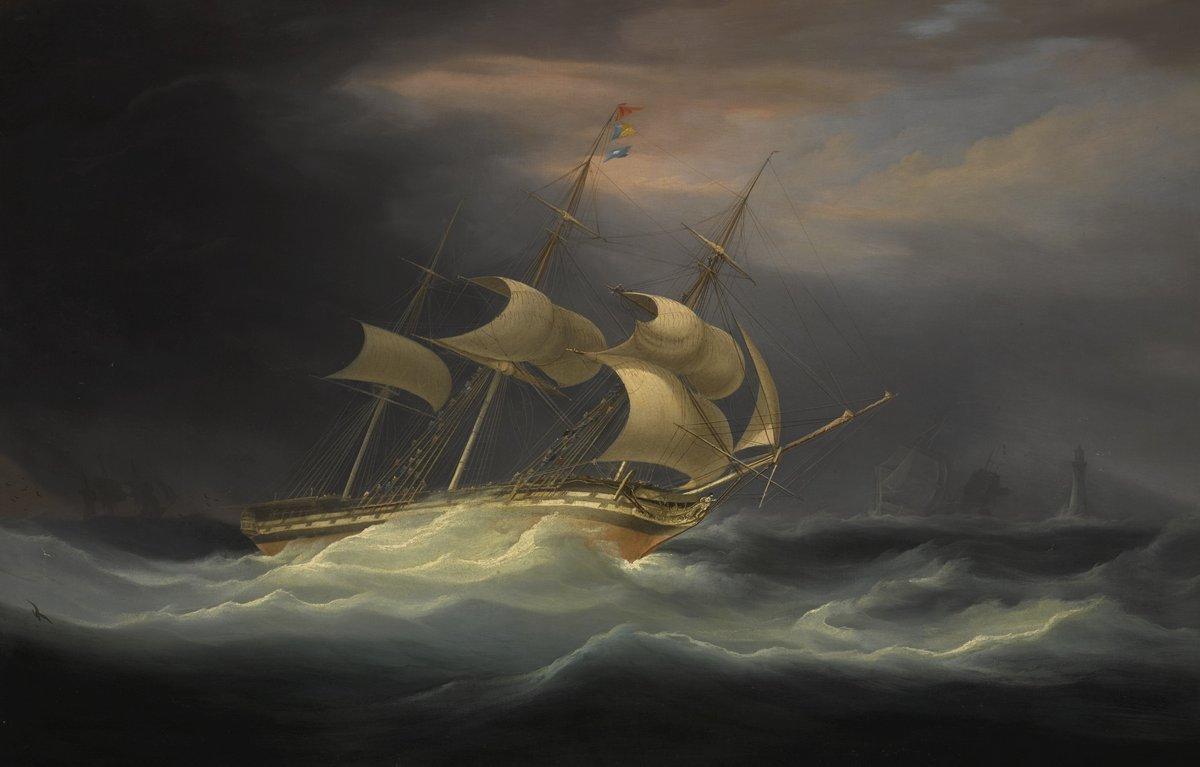 Пейзаж морской Хаггинс Уильям «Корабль в шторм», 31x20 см, на бумагеПейзаж морской<br>Постер на холсте или бумаге. Любого нужного вам размера. В раме или без. Подвес в комплекте. Трехслойная надежная упаковка. Доставим в любую точку России. Вам осталось только повесить картину на стену!<br>
