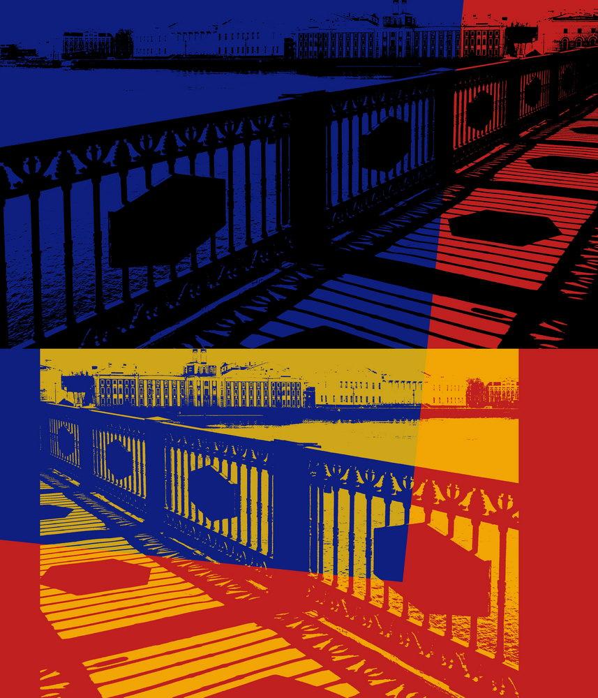 Санкт-Петербург - современная графика, картина pst1Санкт-Петербург - современная графика<br>Репродукция на холсте или бумаге. Любого нужного вам размера. В раме или без. Подвес в комплекте. Трехслойная надежная упаковка. Доставим в любую точку России. Вам осталось только повесить картину на стену!<br>