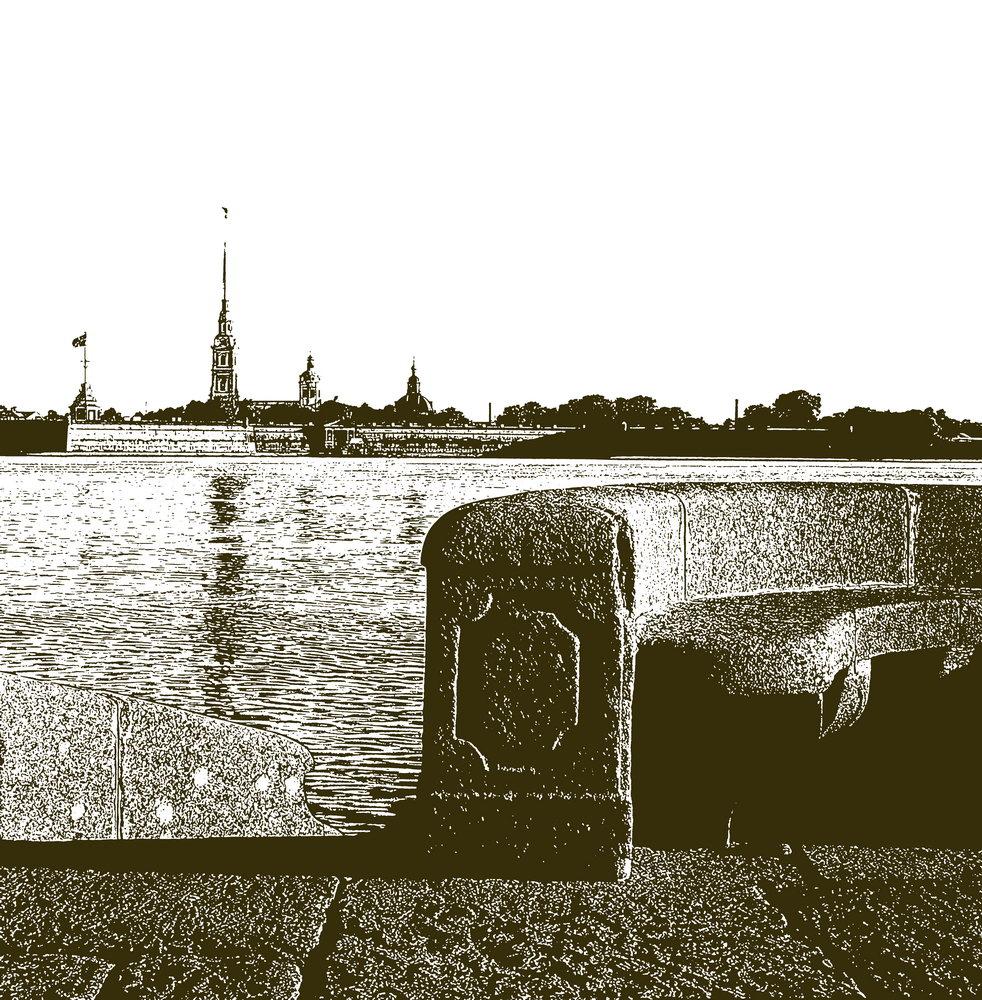 Санкт-Петербург - современная графика, картина pst17Санкт-Петербург - современная графика<br>Репродукция на холсте или бумаге. Любого нужного вам размера. В раме или без. Подвес в комплекте. Трехслойная надежная упаковка. Доставим в любую точку России. Вам осталось только повесить картину на стену!<br>