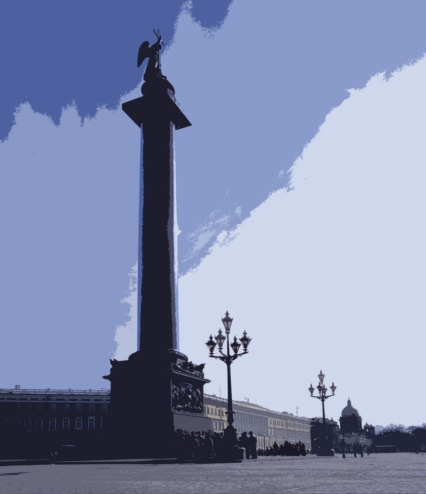 Санкт-Петербург - современная графика, картина pst2Санкт-Петербург - современная графика<br>Репродукция на холсте или бумаге. Любого нужного вам размера. В раме или без. Подвес в комплекте. Трехслойная надежная упаковка. Доставим в любую точку России. Вам осталось только повесить картину на стену!<br>