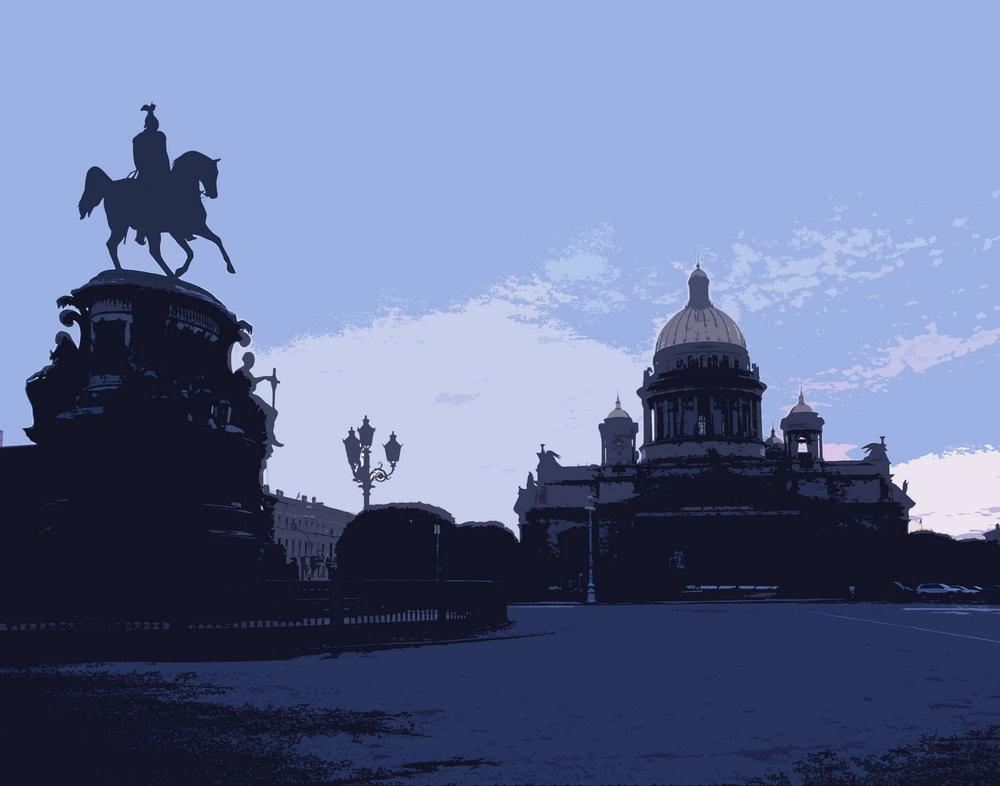 Постер Санкт-Петербург - современная графика pst24Санкт-Петербург - современная графика<br>Постер на холсте или бумаге. Любого нужного вам размера. В раме или без. Подвес в комплекте. Трехслойная надежная упаковка. Доставим в любую точку России. Вам осталось только повесить картину на стену!<br>