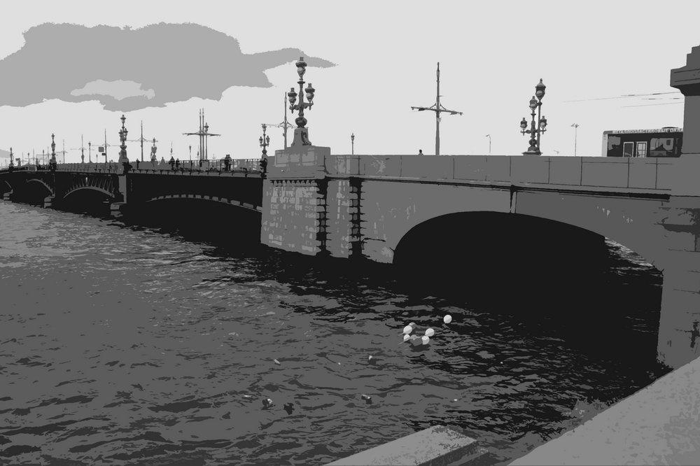 Санкт-Петербург - современная графика, картина pst39Санкт-Петербург - современная графика<br>Репродукция на холсте или бумаге. Любого нужного вам размера. В раме или без. Подвес в комплекте. Трехслойная надежная упаковка. Доставим в любую точку России. Вам осталось только повесить картину на стену!<br>