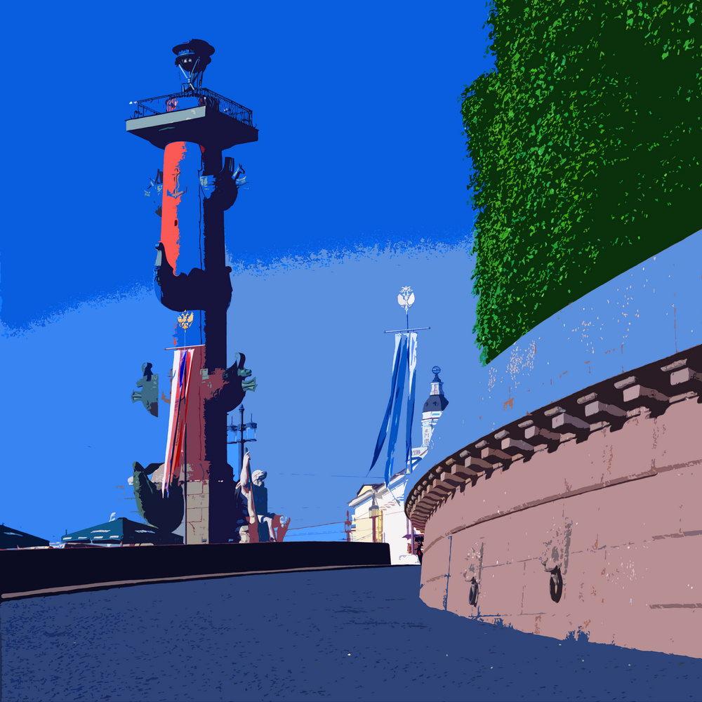 Постер Санкт-Петербург - современная графика pst6Санкт-Петербург - современная графика<br>Постер на холсте или бумаге. Любого нужного вам размера. В раме или без. Подвес в комплекте. Трехслойная надежная упаковка. Доставим в любую точку России. Вам осталось только повесить картину на стену!<br>