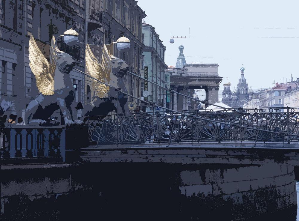 Санкт-Петербург - современная графика, картина pst7Санкт-Петербург - современная графика<br>Репродукция на холсте или бумаге. Любого нужного вам размера. В раме или без. Подвес в комплекте. Трехслойная надежная упаковка. Доставим в любую точку России. Вам осталось только повесить картину на стену!<br>
