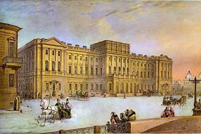 Санкт-Петербург - старинная живопись и графика, картина
