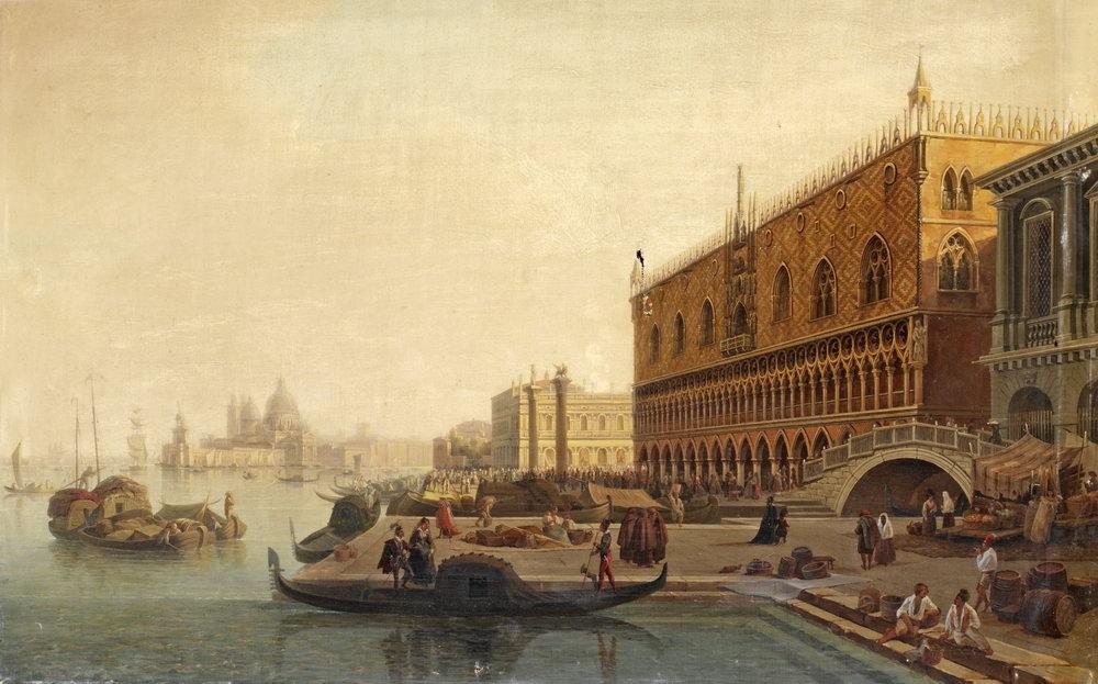 Венеция, картина Палм Густав Вильгельм, ВенецияВенеция<br>Репродукция на холсте или бумаге. Любого нужного вам размера. В раме или без. Подвес в комплекте. Трехслойная надежная упаковка. Доставим в любую точку России. Вам осталось только повесить картину на стену!<br>