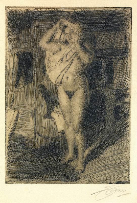 Цорн Андерс, картина