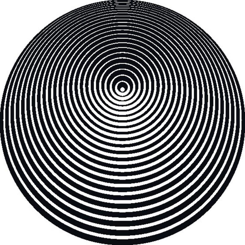 Наклейка «Искривление пространства»Абстракция<br><br>