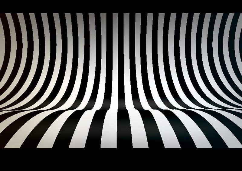 Наклейка «Волна-зебра»Абстракция<br><br>