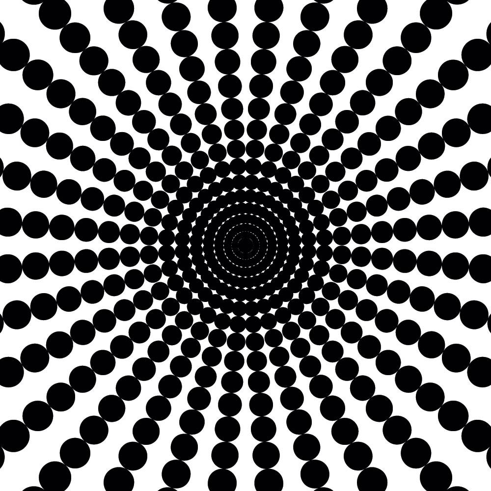 Наклейка «Чёрные лучи»Абстракция<br><br>