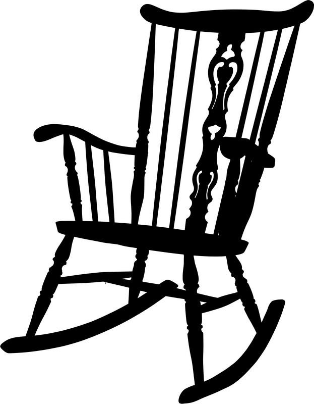 Наклейка «Деревянный стул»Винтаж<br><br>