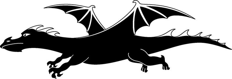 Наклейка «Молодой дракон»Волшебные существа<br><br>
