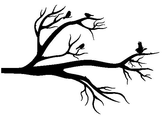 Наклейка «Птицы на ветвях»Деревья<br><br>