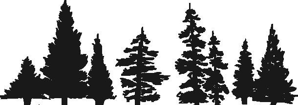 Наклейка «Лес»