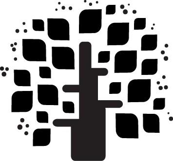 Наклейка «Листья-ромбики»
