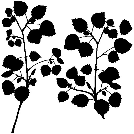 Наклейка «Две ветви»Деревья<br><br>