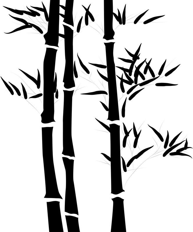 Наклейка «Бамбук»