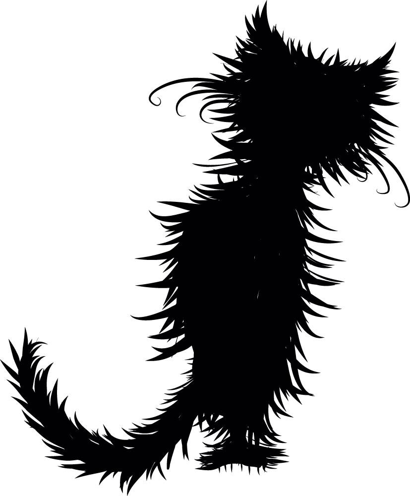 Наклейка «Кот после мытья»Детские<br><br>