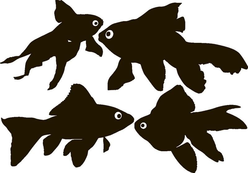 Наклейка «Рыбки плывут на встречу»Для ванны, туалета<br><br>