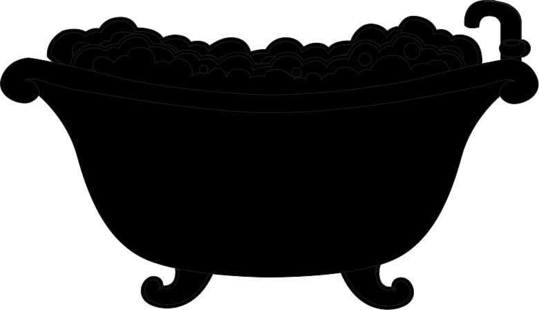 Наклейка «Ванна с пеной»Для ванны, туалета<br><br>