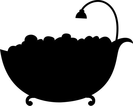 Наклейка «Ванна»