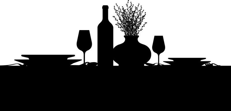 Наклейка «Накрытый стол»Для кухни, столовой<br><br>