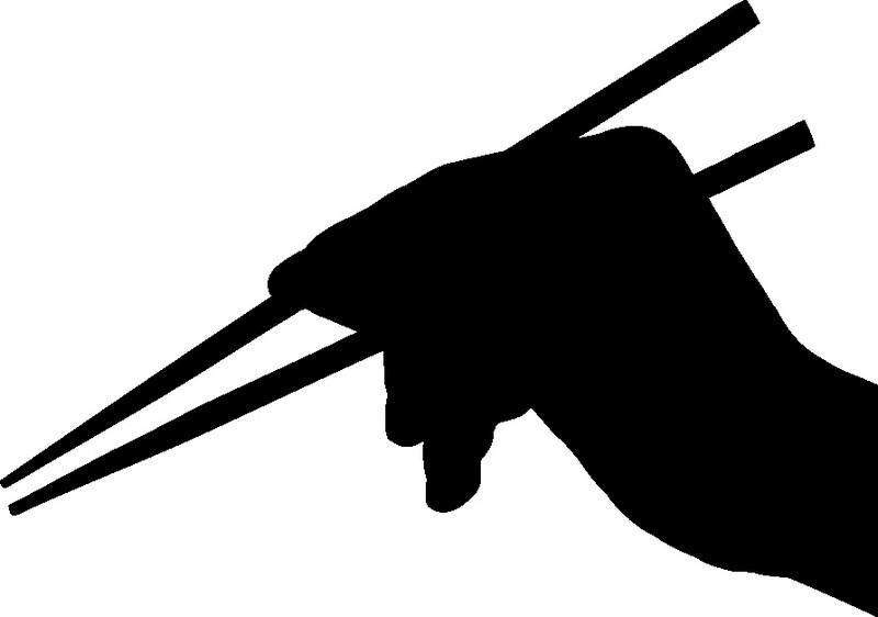 Наклейка «Китайские палочки»Для кухни, столовой<br><br>