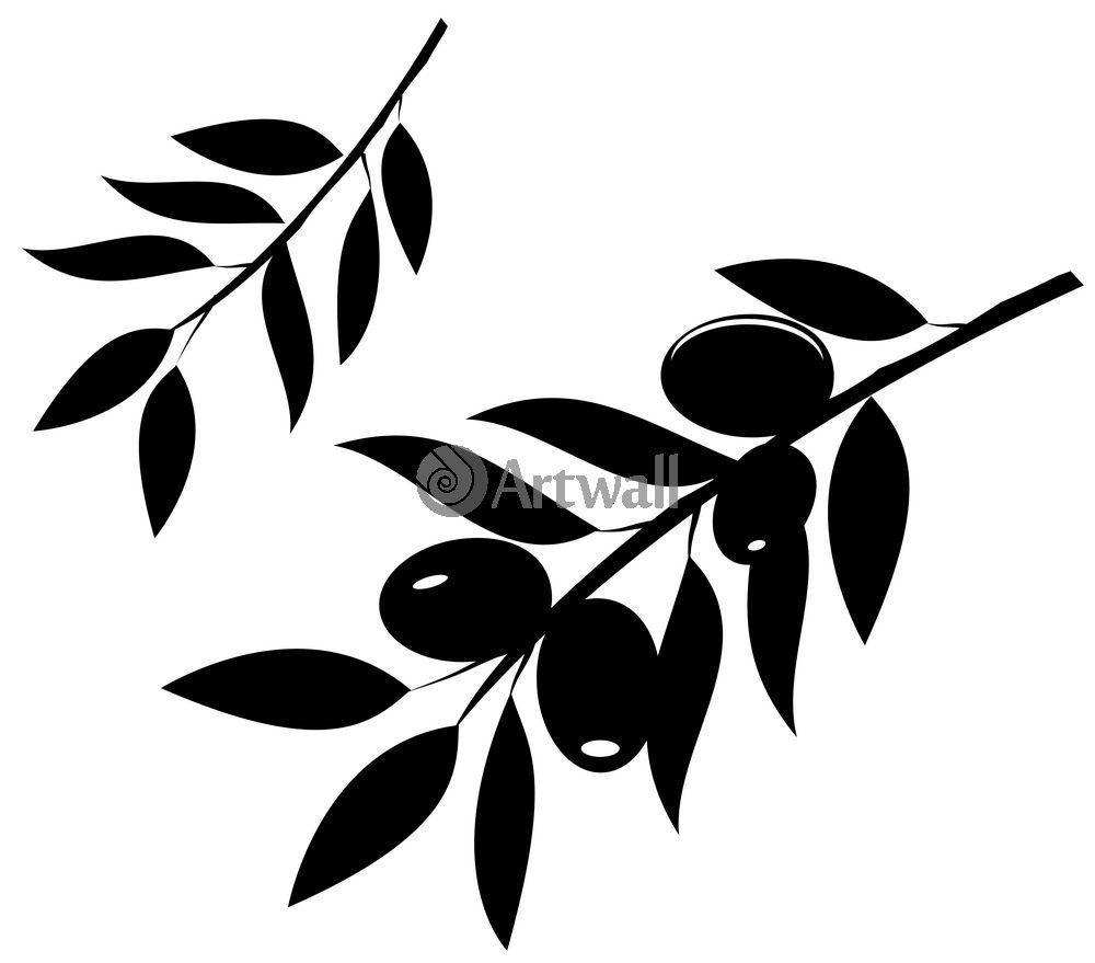 Наклейка «Две ветви»Для кухни, столовой<br><br>