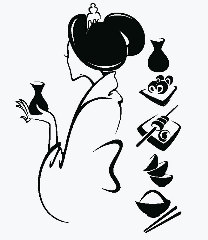 Наклейка «Восточная кухня»Для кухни, столовой<br><br>
