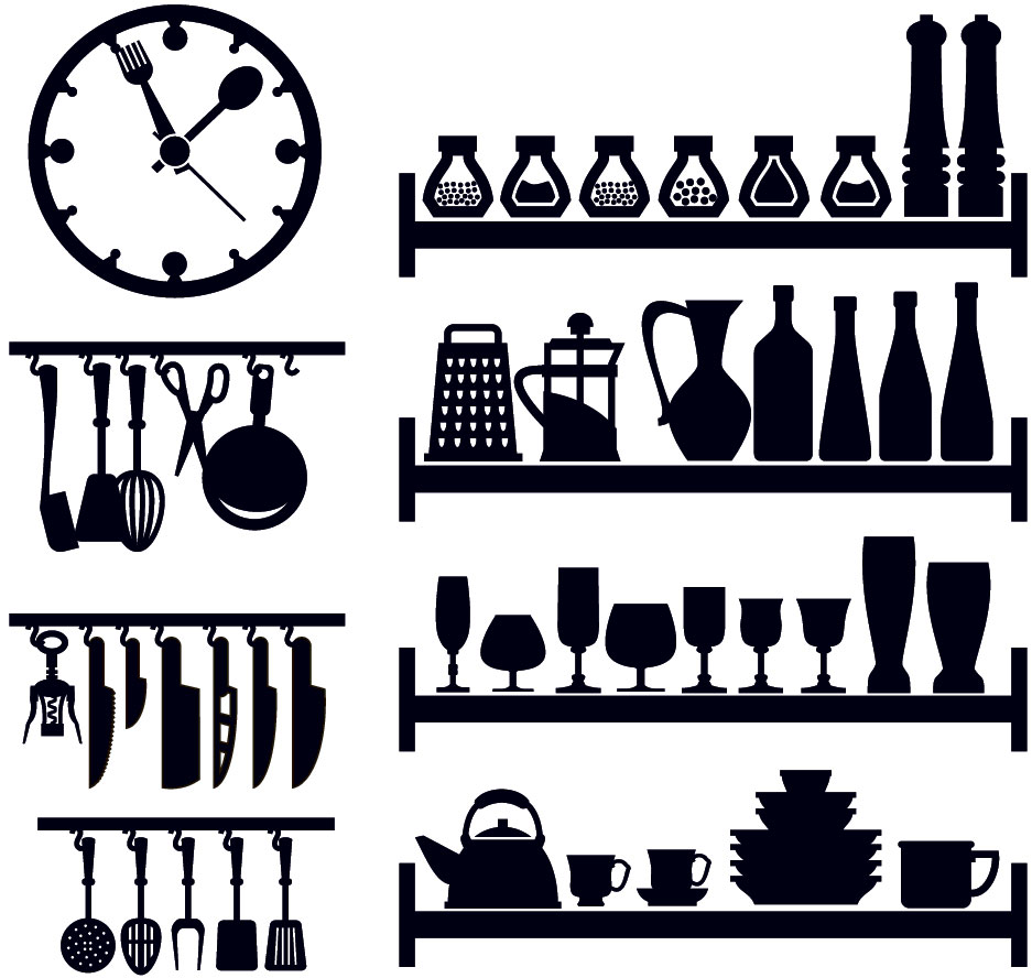 Наклейка «Кухня в порядке»Для кухни, столовой<br><br>