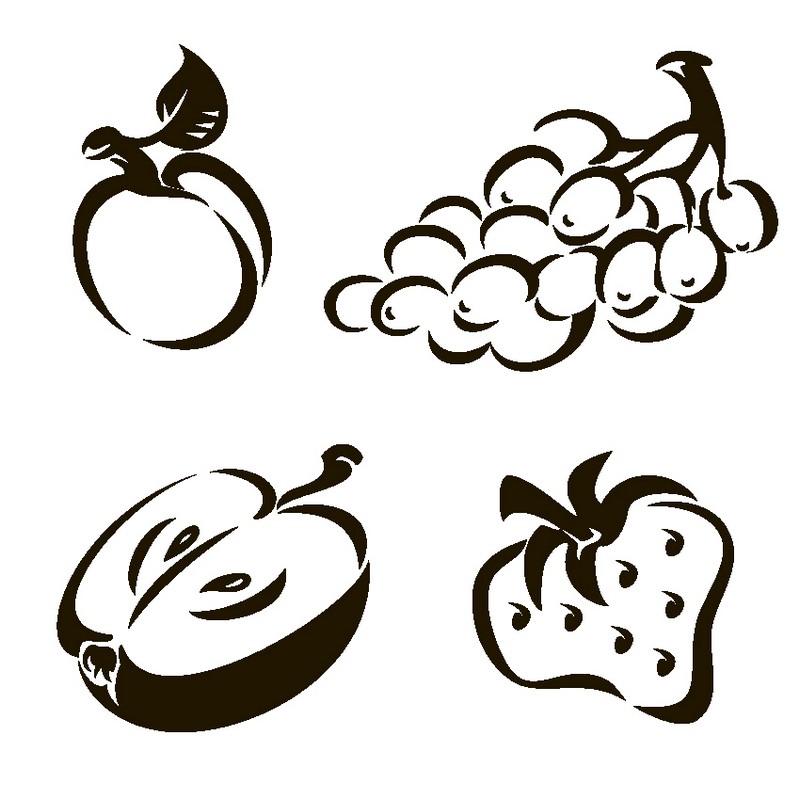 Наклейка «Сладки фрукты»Для кухни, столовой<br><br>