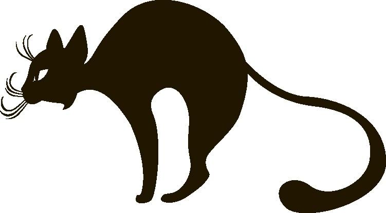 Наклейка «Взъерошенный кот»Животные и птицы<br><br>