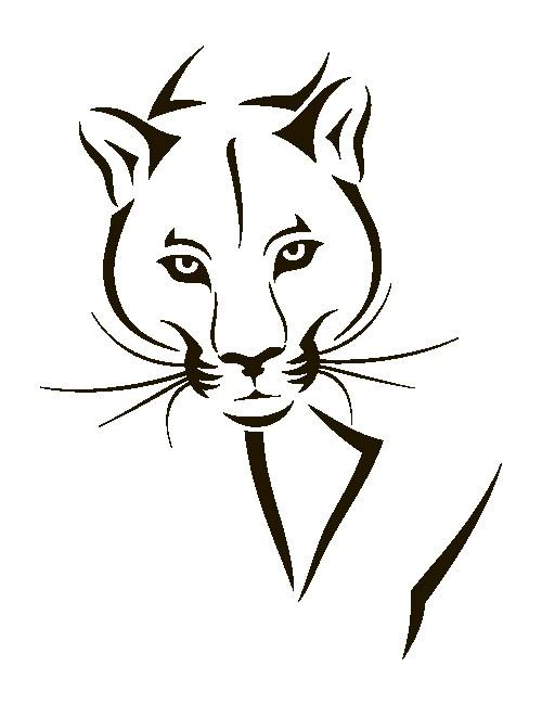 Наклейка «Пантера»Животные и птицы<br><br>