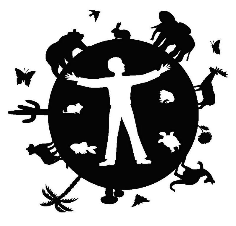 Наклейка «Человек и животные»Животные и птицы<br><br>