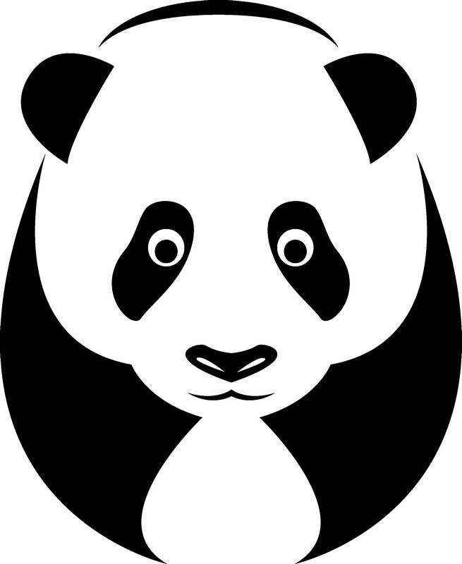 Наклейка «Панда»Животные и птицы<br><br>