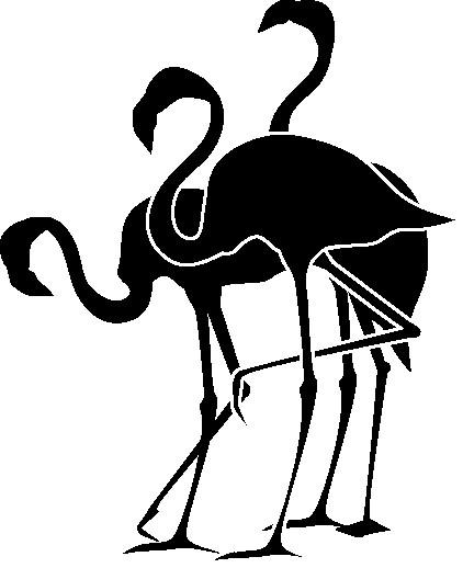 Наклейка «Три цапли»Животные и птицы<br><br>