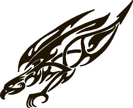 Наклейка «Ястреб»Животные и птицы<br><br>