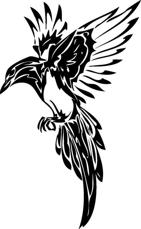 Наклейка «Птица расправила крылья»Животные и птицы<br><br>