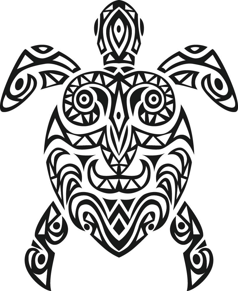 Наклейка «Мексиканская черепаха»Животные и птицы<br><br>