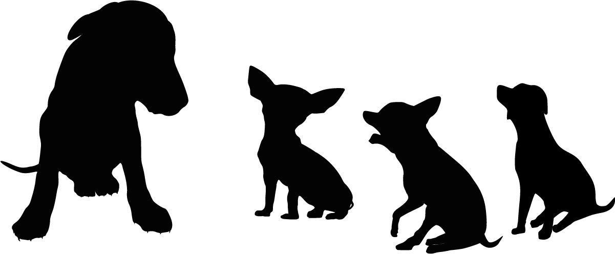 Наклейка «Маленькие собачки»Животные и птицы<br><br>