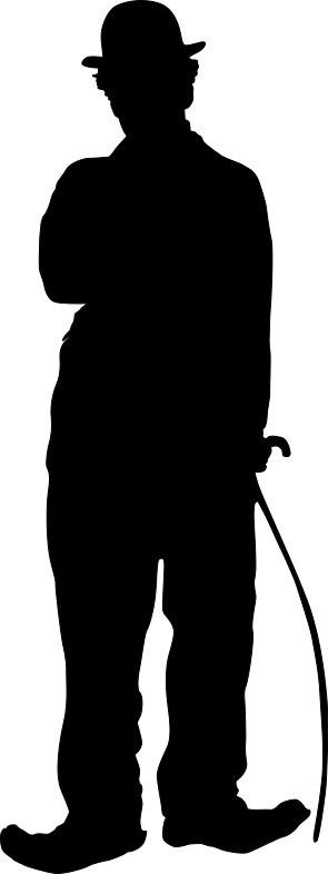 Наклейка «Чарли Чаплин»Знаменитости<br><br>