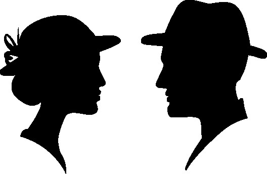 Наклейка «Мужчина и женщина»Любовь<br><br>
